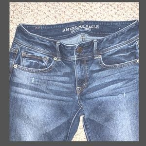 American Eagle Outfitters Jeans - AE Kick Boot Medium Wash Jeans Size 6R
